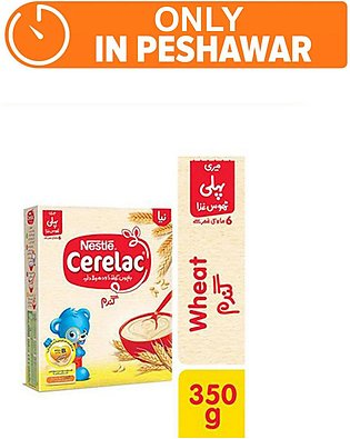 Nestle CERELAC Wheat 350g - Baby Food (One day delivery in Peshawar)