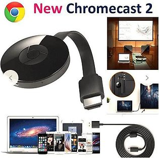 Chromecast 2 Google 2nd Generation WiFi Display Dongle HDMI 1080P Receiver Wire…