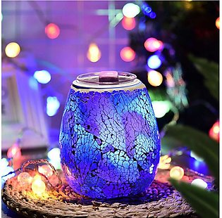 Mosaic Electric Wax Melt 7 Color Led Night Light for Wedding,Home Decoration,Ba…