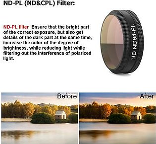 4pcs Camera Lens Filters set ND4-PL+ND8-PL+ND16-PL+ND32-PL for DJI MAVIC Air