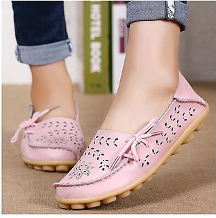 Factory wholesale sandals summer shoes hole flat leather shoes casual girls aged Doug Mama shoes code PINK