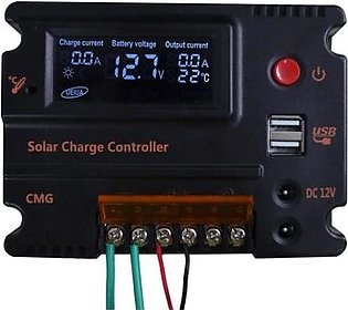 20A Solar Charge Controller LCD Solar Panel Battery Regulator Charge