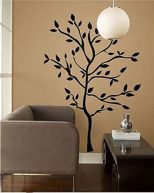 Big tree wall sticker for room and Tv lounge decorations birds tree wall sticke…