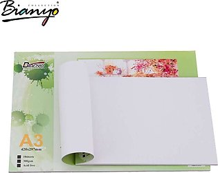 Acrylic Painting Paper Pad A-3 size 300GSM/10 Sheets a3 sketch book painting pad