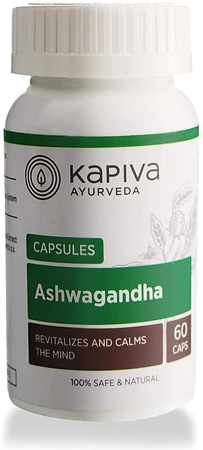 Kapiva 100% Natural  CP - Helps Calm Mind and Relieves Stress - 60 CP
