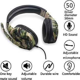 PUBG & Call of Duty Playing Gaming Headset Bluetooth Support Gaming Headphone