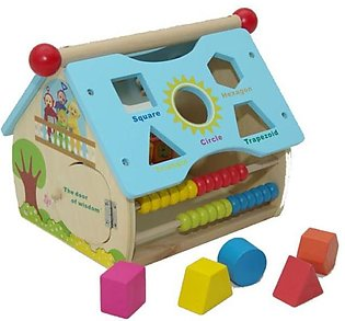 Wisdom House, Educational Toy, Kids Toy Of Wisdom With Shapes Recognition