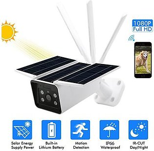 Topsky Outdoor Solar Surveillance Camera, HD 4G Wireless IP Camera, IP67 Waterproof Remote Control Camera with Infrared Night Vision, Alarm Alert and PIR Motion Detection