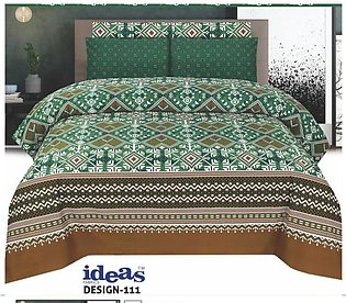 Beddys Studio Printed Custumize Bedsheet With Pillow Cover