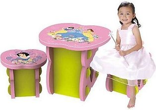 Disney Study Table With 2 Chairs - Princess