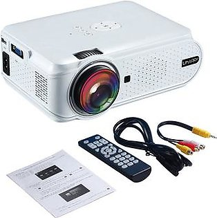 U88 Mini Projector 1080P LED High Definition Mini Projector Supports picture