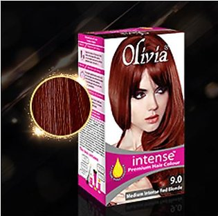 olivia intense hair color 9.0 red blonde