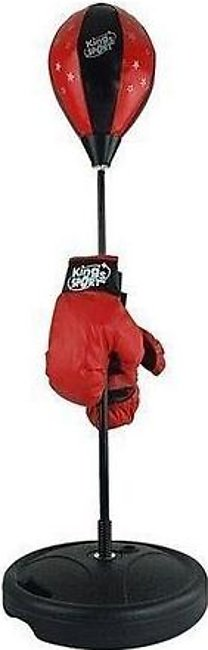 Punching Ball Set With Gloves