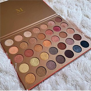 35 Colour Imported Eyeshadow Palette 35G Bronze Goals Morphe