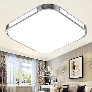 48W LED Square Ceiling Down Light Bedroom Living Room Lamp Surface Mount