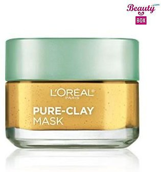 Loreal Pure - Clay Clarify & Smooth Face Mask