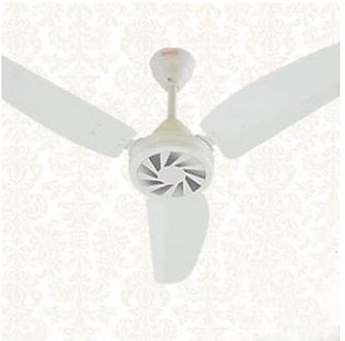 Royal Fans Ceiling Fan - Passion Model 56'' - Copper Winding - Off White Silver