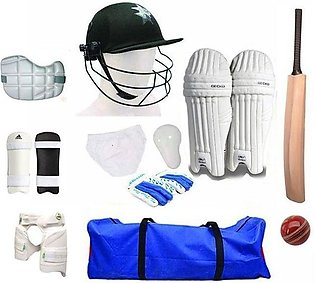 Complete Hard Ball Cricket Kit with Accessories-High Quality