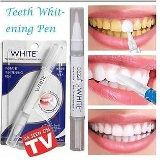 Peroxide Gel Teeth Cleaning White Pen Instant Teeth Whitening Pen - Made In Ame…