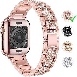 Apple Watch Band 42mm 44mm Series 5 Series 4 3 2 1  Bling Replacement Bracelet …