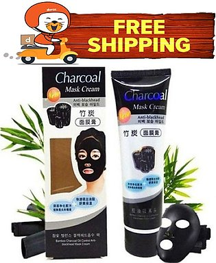 Anti Blackhead Charcoal Mask Cream 130 Gram With Free Home Delivery