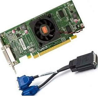 Game card / Graphics Card AMD Radeon 5450 / 6350 512 MB  (with free DVI cable...