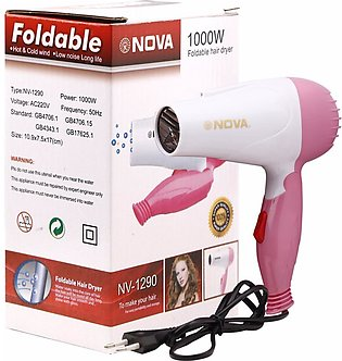 Nova Foldable Hair Dryer Mini N658