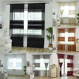 270x100cm Luxurious Tulle Curtains Floral Living Room Bedroom Cloth Home Decor