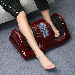 220V Electric Heating Foot Body Leg Massager Shiatsu Kneading Roller Vibrator...