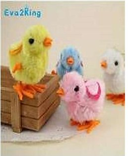 Pack of 6 - Funny Walking Chicken Chick Toys For Kids