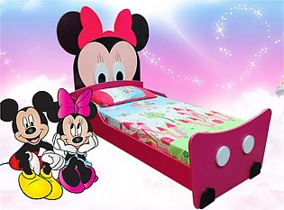 Mickey Mouse Single Bed for Beautiful Girls