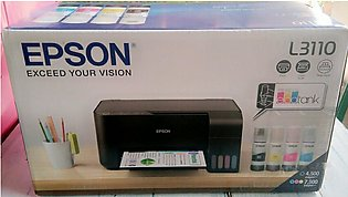 EPSON L3110 ALL IN ONE INK TANK SYTEM (4 COLOR) (L-360 Successor Model)