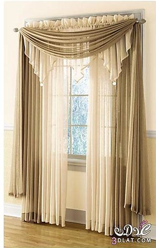 Fancy Cotton Satin Curtain For Home/Office 09