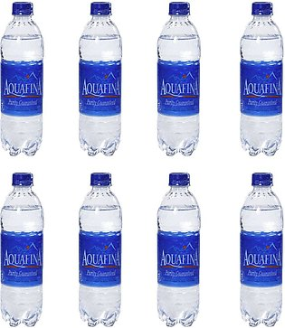 Pack of 8 - Aquafina Pure Mineral Water - 1.5 Litre