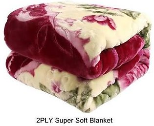 Double Bed Embossed Flannel Blanket