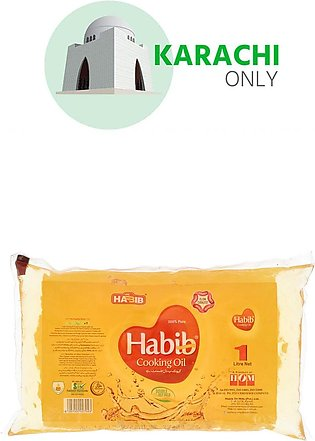 Habib Cooking Oil Pillow Pack 1 Litre