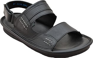 Urban Sole - Black Casual Sandal for Men - AT-8104
