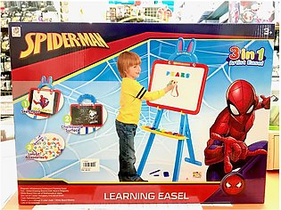 LEARNING EASEL SPIDERMAN 3 IN 1