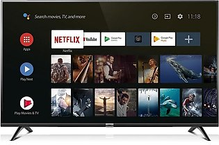 Tcl Android TV 40 Inch L40S6500 Black