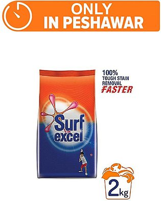 SURF EXCEL DETERGENT 2 KG (One day delivery in Peshawar)