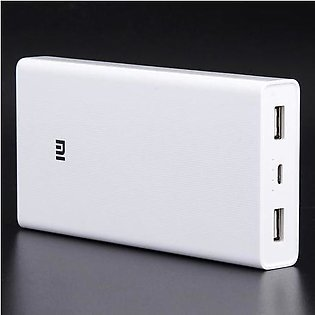 Xiaomi 20000mAh Power Bank Dual USB Fast Charge Quick Charge 3.0