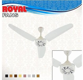 Royal Fans Ceiling Fan - Passion Model 56'' - Copper Winding - Off white Black