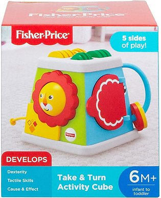 Fisher-Price Activity Cube Baby Activity Toy