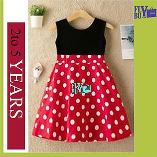 Red Polka Dots Baby Frock