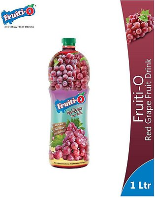 Fruiti-O Red Grape Fruit Drink 1 Litre Bottle