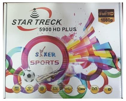 STAR TRECK 5900 HD PLUS built-in WIFI Digital Satellite Dish Receiver with 6 Month HD server Line 88E