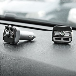 MA 5V 3.4A Dual USB Car Charger Wireless FM Transmitter MP3