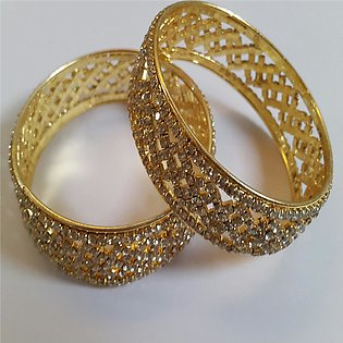 stone bangles 2 piece for women 2246