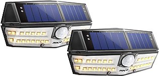 30 LEDs Solar Light Outdoor, Warm White IPX7 Waterproof Solar Lamp Wide Angle...