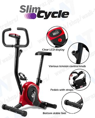 Exercise Bike Training Bicycle Cardio Fitness Sports Cycling Workout Gym Home